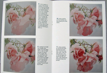 Middle page of the book